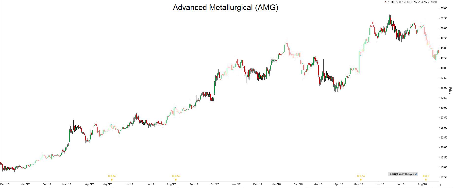 Inwestycje w lit AMG Advanced Metallurgical