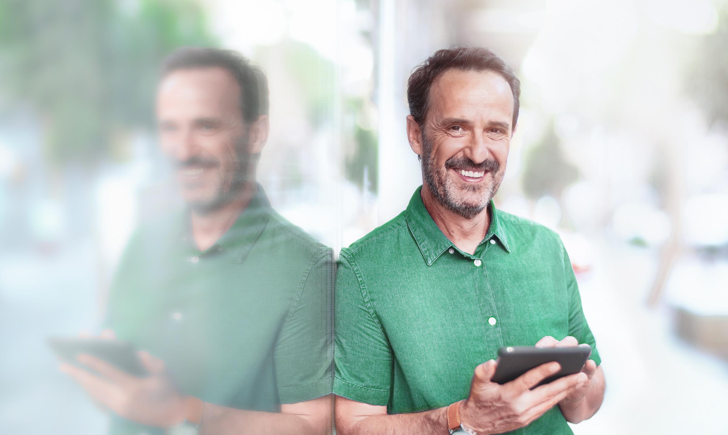 Inwestor i klient LYNX z ubezpieczonymi depozytami